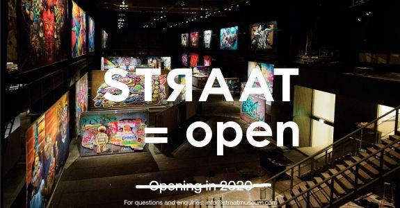 STRAAT = open